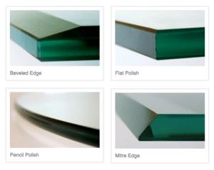 glass edging for residential homes