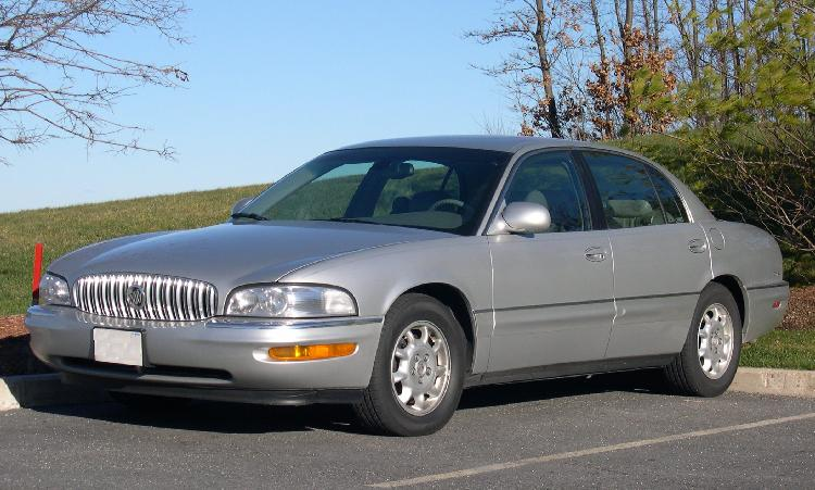 buick park avenue glass