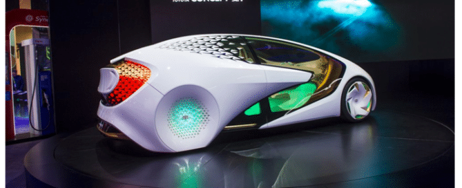 glass on future toyota cars