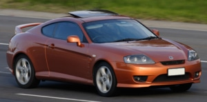 hyundai tiburon window repair