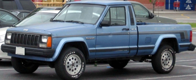 jeep comanche glass repair