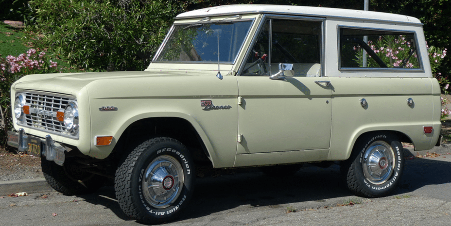 Ford Bronco OEM Windshield Replacement