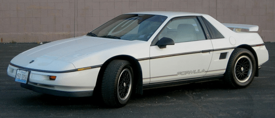 pontiac fiero windshield repair