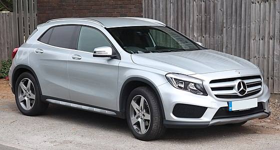 Top Mercedes-Benz_GLA_auto glass repair