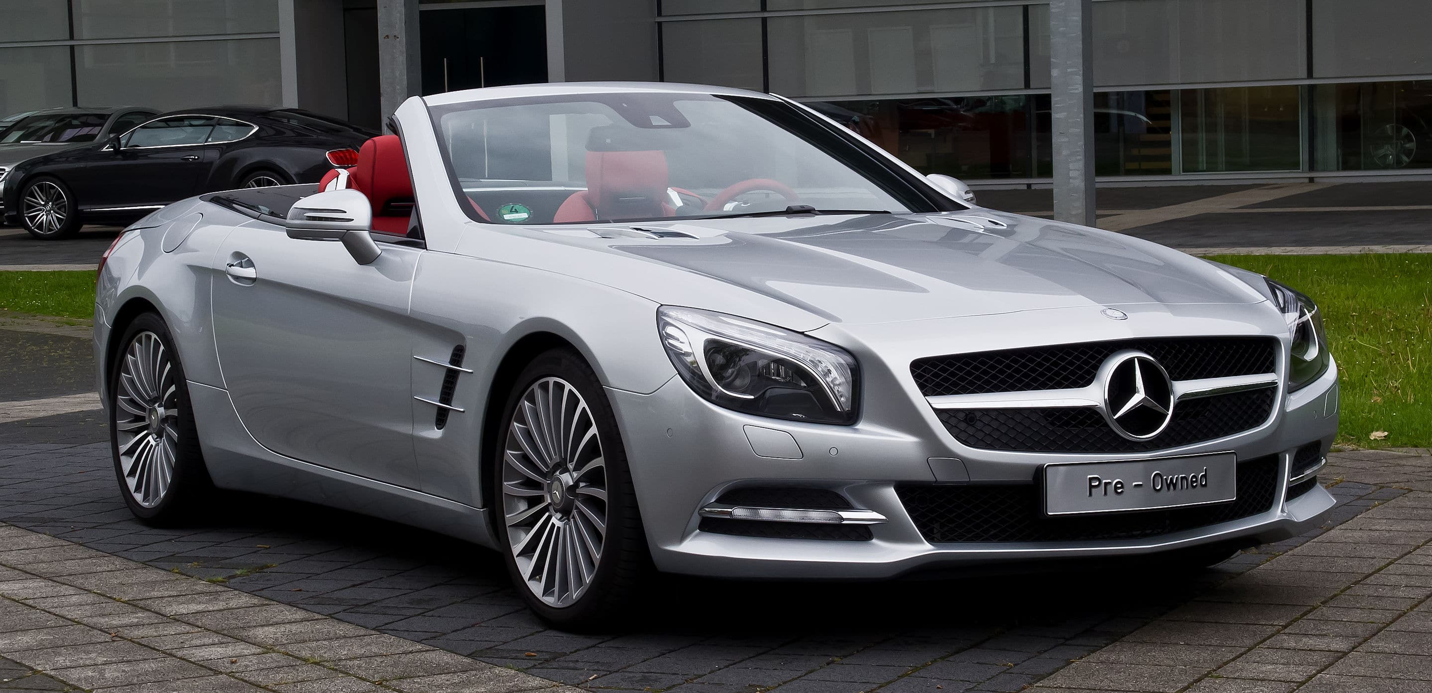 Top Mercedes SL Class Windshield and Window Repair
