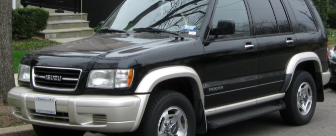 best window restoration isuzu trooper phoenix