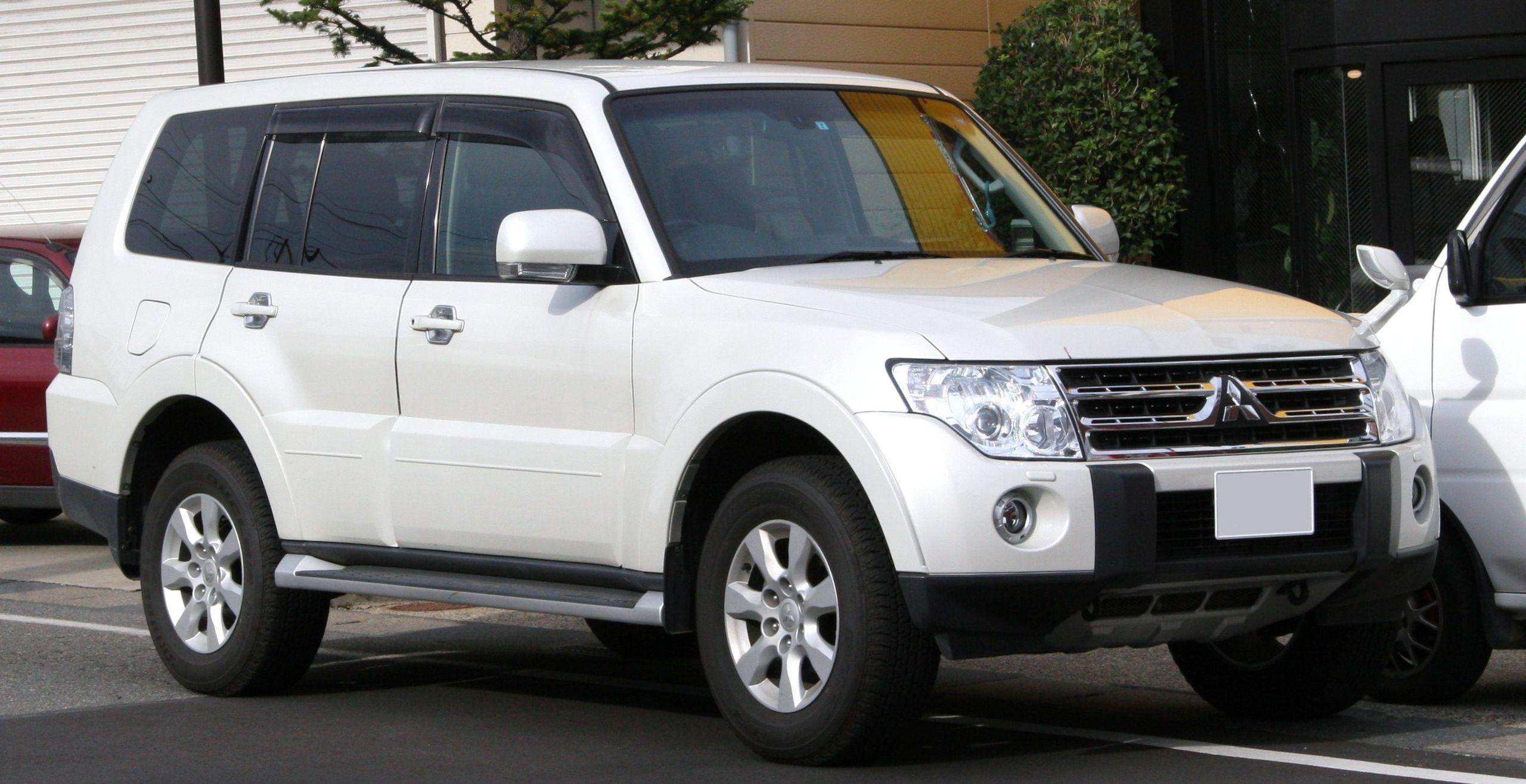 Mitsubishi Montero Windshield Repair & Replacement